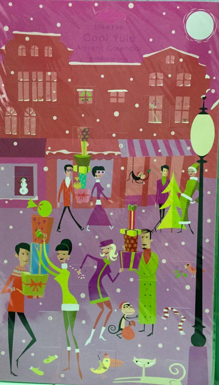 Art Advent Calendar : Best shag o licous images on pinterest