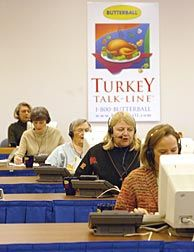 Top 10 turkey tips from the Butterball hotline