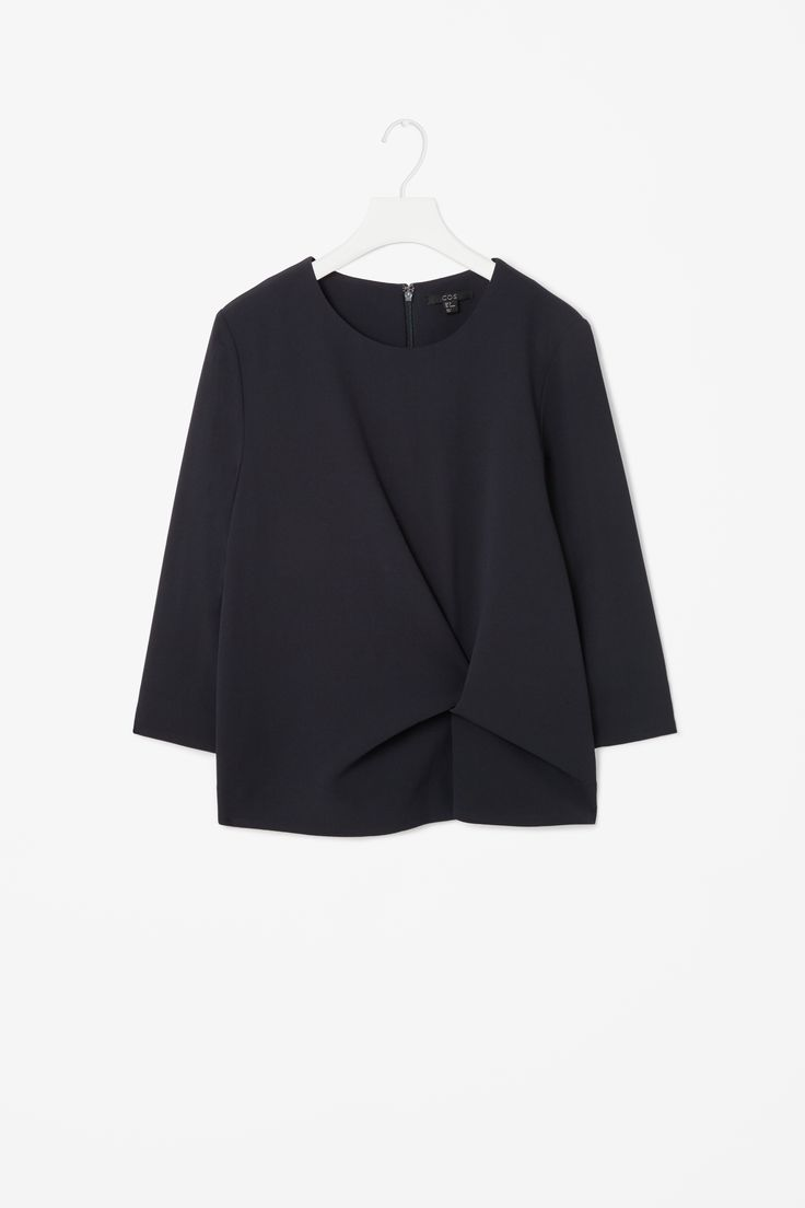 cos // knot detail top