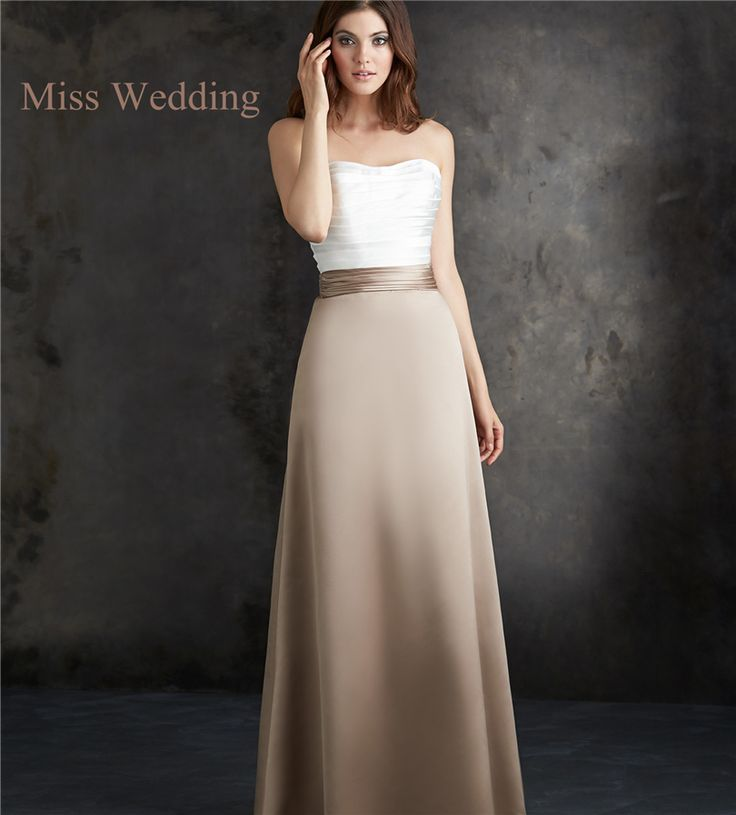Cheap party dresses uk, Buy Quality dress for fat women directly from China dress up princess dress Suppliers: MissWedding Strapless Ruched Bodice Satin Long SkirtBridalmaid Dress********************************************