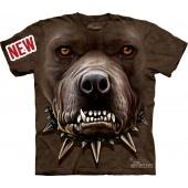 Camiseta - The Mountain - Zombie Pitbull Face jlle1 @jlle1.com