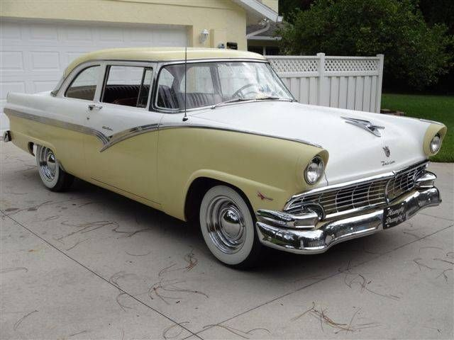 1956 ford fairlane 2 door club sedan ford pinterest for 1956 ford crown victoria 2 door coupe