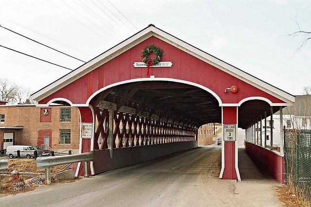 West Swanzey Covered Bridge, Swanzey, New Hampshire