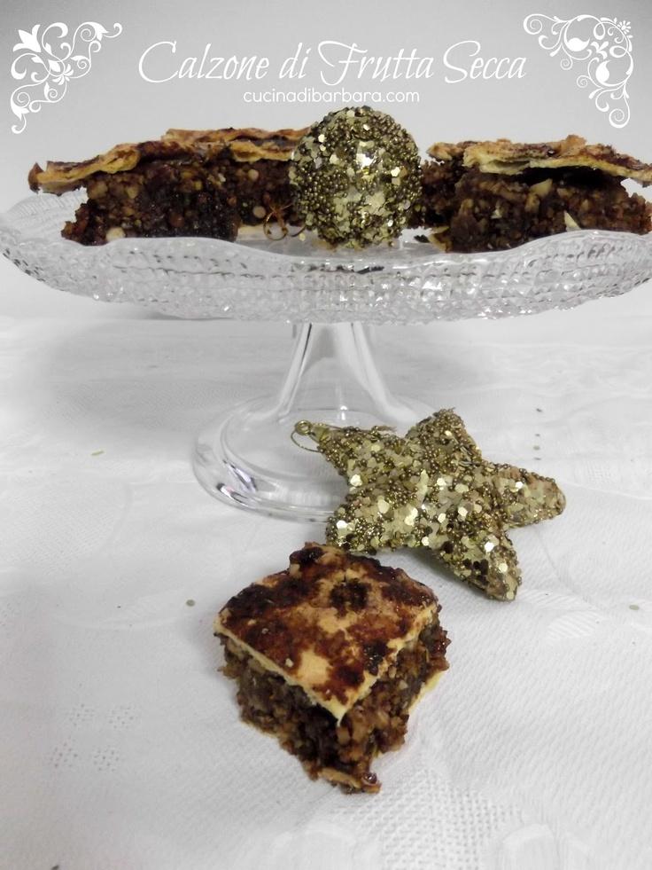 Cucina di Barbara: Calzone di frutta secca - Italian minced pie... assaggiato... buonissimo!