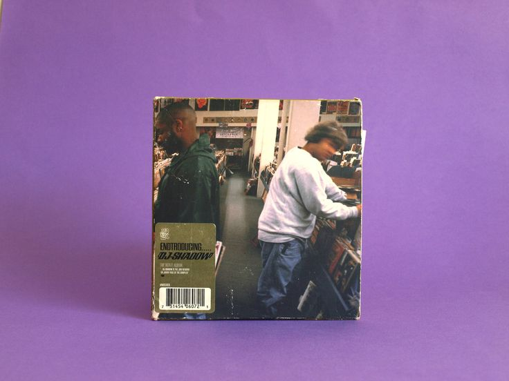 DJ Shadow Endtroducing Debut CD Album - Original 1996 UK Copy - Vintage Trip Hop Music with Original Postcard by FunkyKoala on Etsy