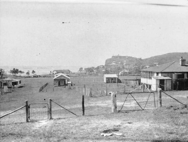 Newport in the Northern Beaches region of Sydney in 1922.
