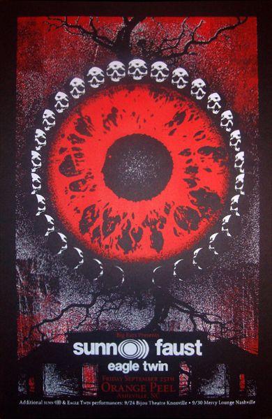 Sunn O))) // Faust // Eagle Twin Awesomeness by Mike Hrabovsky!