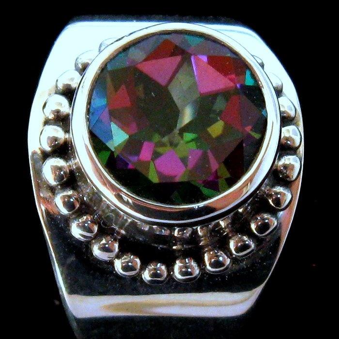 Sterling silver Mystic Topaz ring $176