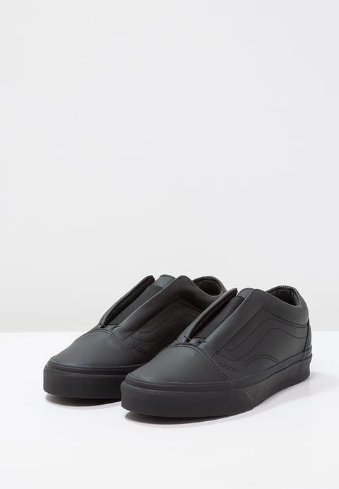 f6a37f88c1 Vans OLD SKOOL LACELESS - Półbuty wsuwane - black za 239