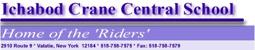 Ichabod Crane Central School District Valatie NY-Home of the Riders
