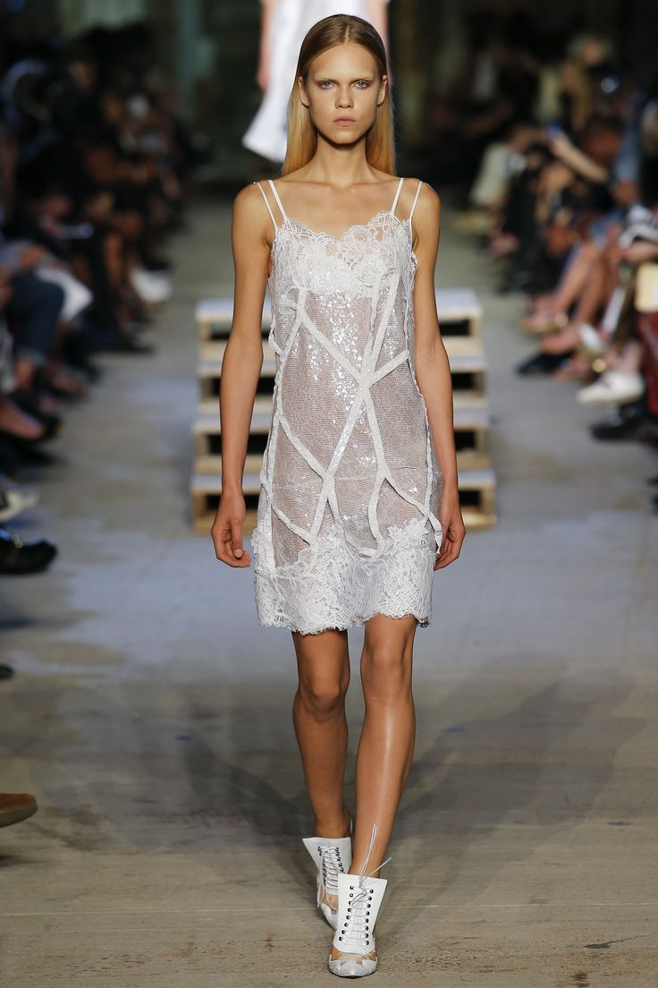 Givenchy / Spring 2016 Trends / Spring's most sensual proposition? Bar none, the bevy of lusciously languid styles that are taking lingerie out of the boudoir and onto the street.