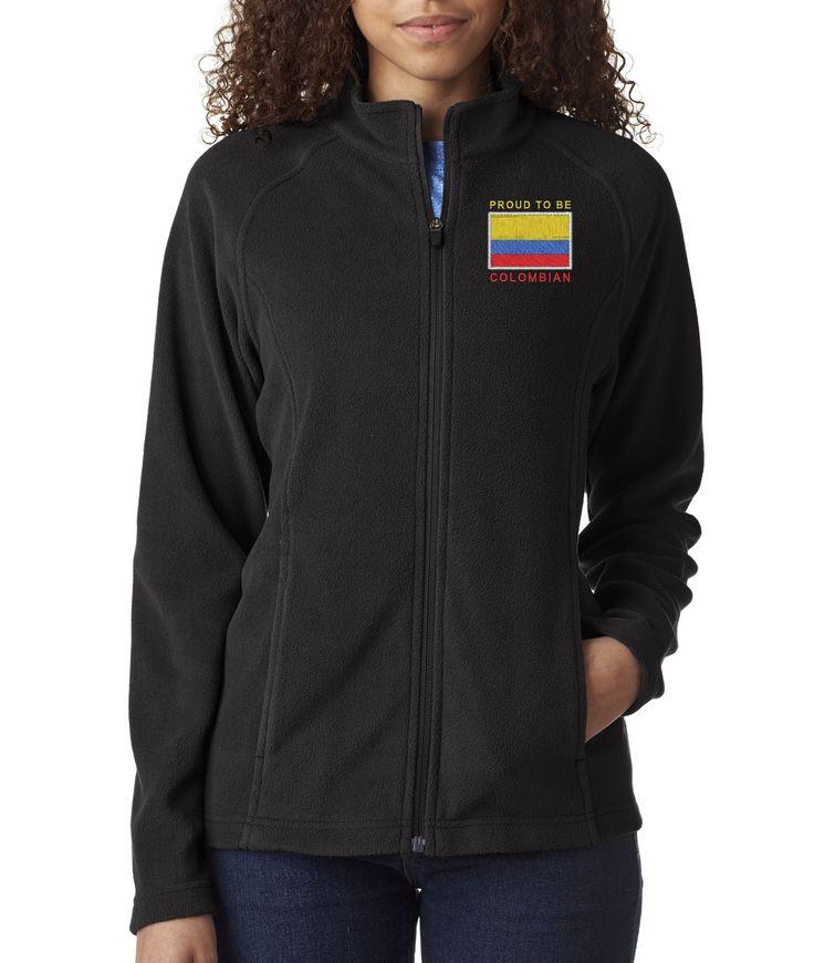 Proud To Be Colombian Women's Fleece