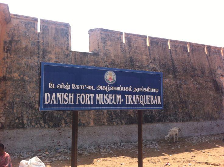 Danish Fort Museum #signage