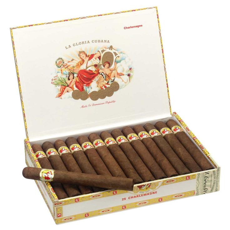 Shop Now La Gloria Cubana Charlemagne Cigars - Natural Box of 25 | Cuenca Cigars  Sales Price:  $129.99