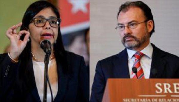Venezuela rechaza injerencia de Videgaray