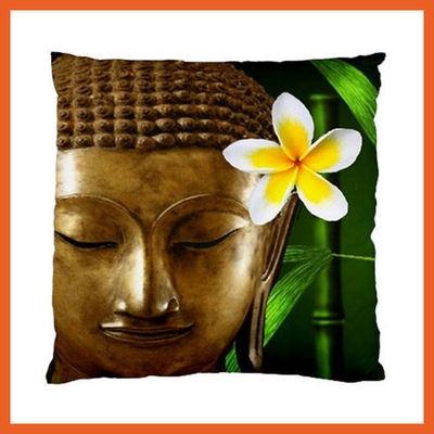 Buddha Frangipani Cushion