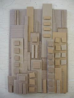 Cardboard Cityscape   PSD Art Gallery