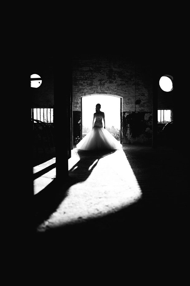 Monochrome bride - Jack and Jane Photography