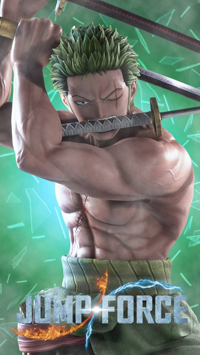Jump Force Roronoa Zoro One Piece By Farizf Zoro One Piece Roronoa Zoro One Piece Anime