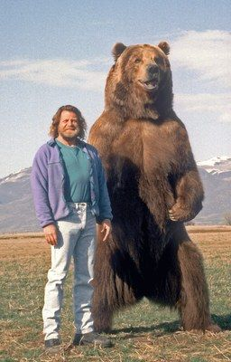 Bart the bear and doug seus