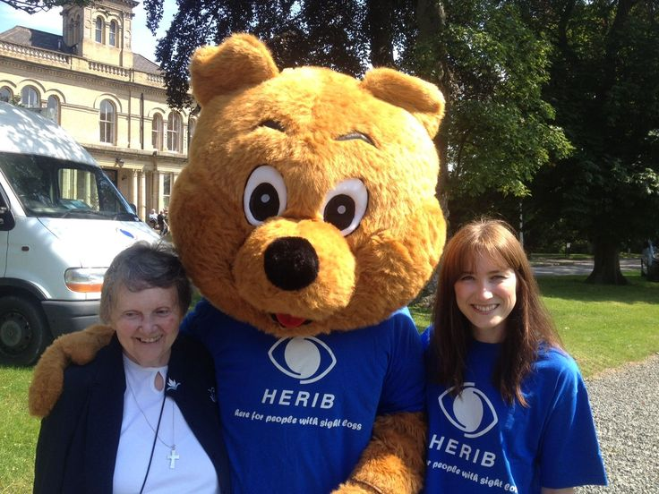 Ability IT volunteer at the Teddy Tombola for local Hull charity HERIB - Hull Institute for the Blind
