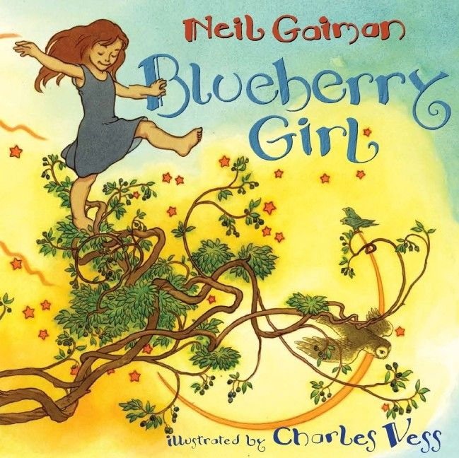 Blueberry Girl -- A beautiful ode to girls and the wonders of growing up -- a perfect baby show or graduation gift