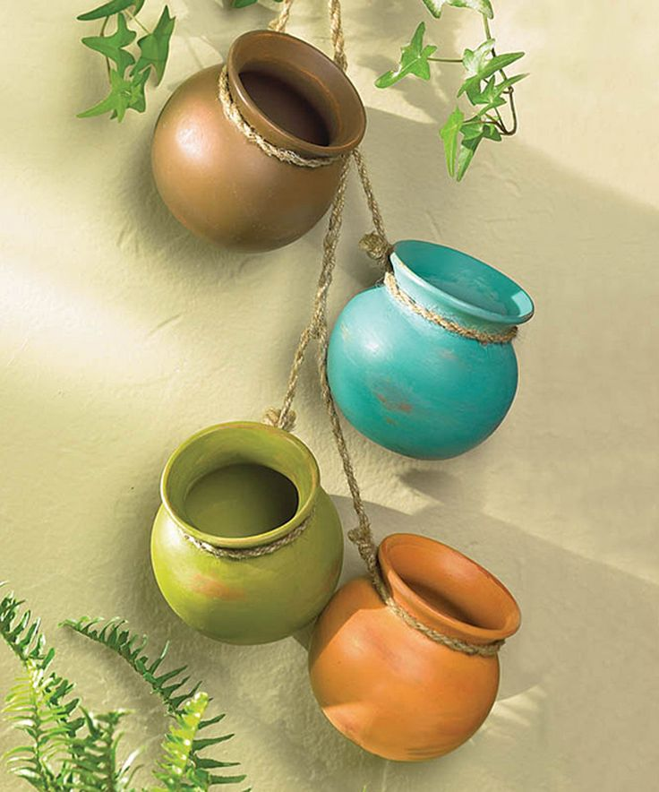 Take a look at this Southwestern Hanging Pots today!
