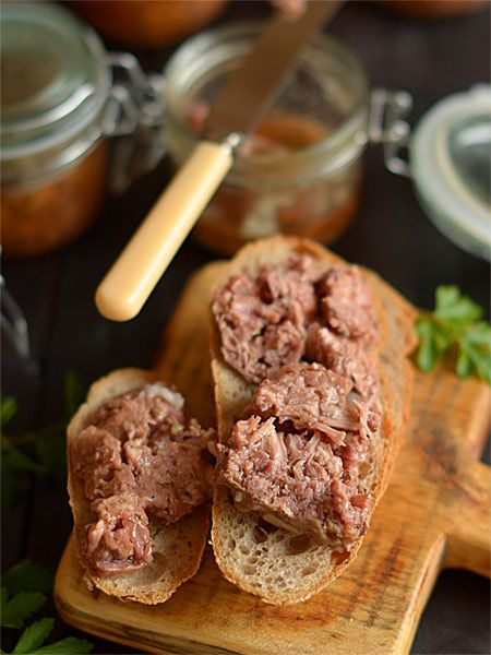 Zdrowe, zimowe mięsiwo wołowo-wieprzowe pieczone w słoikach - etap 7