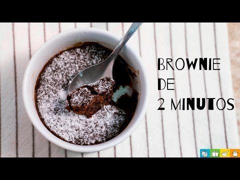 Fácil e Rápido - Brownie de 2 minutos - Malas e Panelas