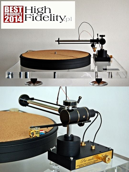 Turntable (model linear/tangential with grate quality of sound) made by pre-audio.com