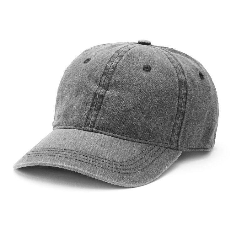 Women's Mudd® Washed Baseball Hat, Black