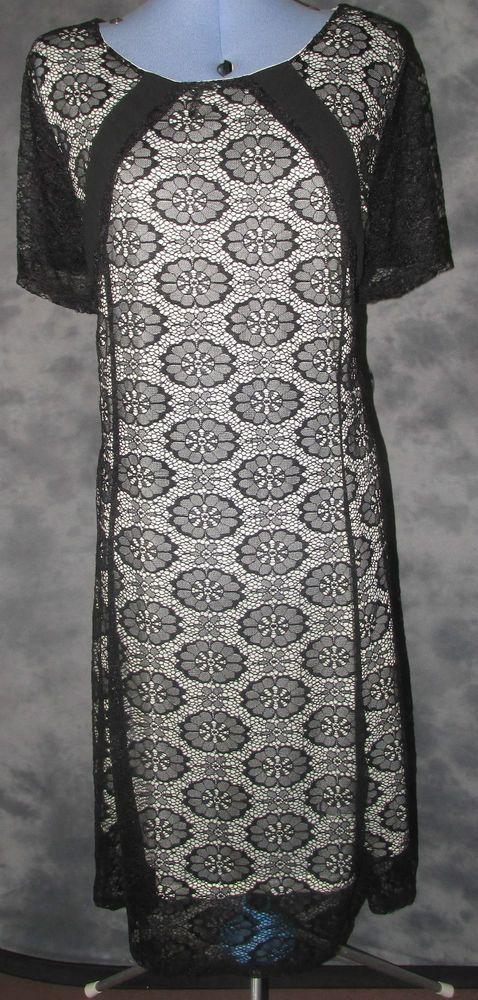 Limited,ladiesplus,size, 20,black,floral,scoop neck,short sleeved,Formal,Dress