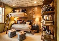 Dormitorio rústico para chico adolescente - Contenido seleccionado con la ayuda de http://r4s.to/r4s