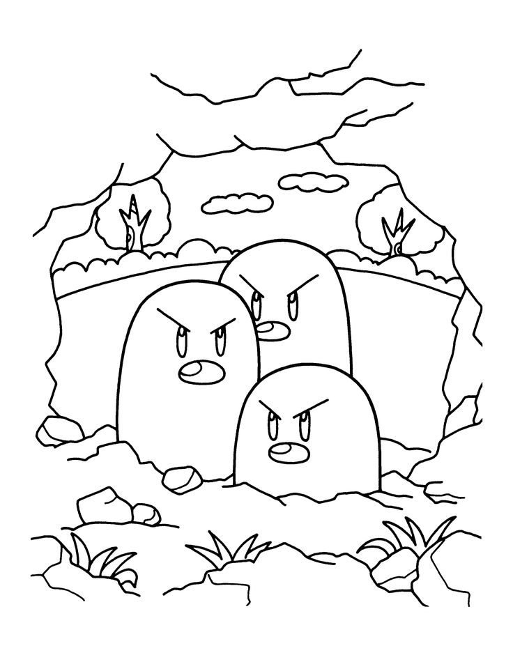 204 Best Pokemon Coloring Pages Images On Pinterest