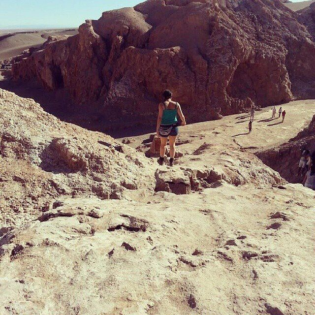 San Pedro de Atacama. Valle de la luna