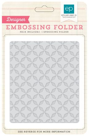 Embossing Folder Quilted Star (Echo Park) - Ninabrook Paper Crafting