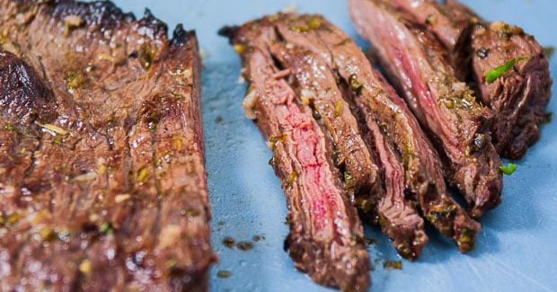 Looking for an unforgettable recipe that's so delicious it takes everyone's breath away? If you love meat that makes your mouth water, then Authentic Carne Asada is the best you will EVER have. A tender, juicy flank steak is cooked to perfection — and tasting the authentic Mexican flavor is pure bliss.