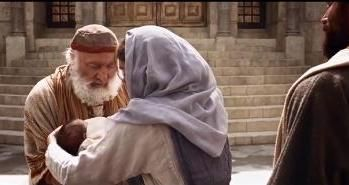 """Jesus foi apresentado no Templo. Aí, duas personagens O acolhem: Simeão e Ana. Eles representam esse Israel fiel que espera ansiosamente a sua libertação e a restauração do reinado de Deus sobre o seu Povo. De Simeão diz-se que era um homem """"justo e piedoso, que esperava a consolação de Israel"""".https://www.facebook.com/notes/padrevergilio-cssr/jesus-%C3%A9-apresentado-no-templo/682985575086602"""