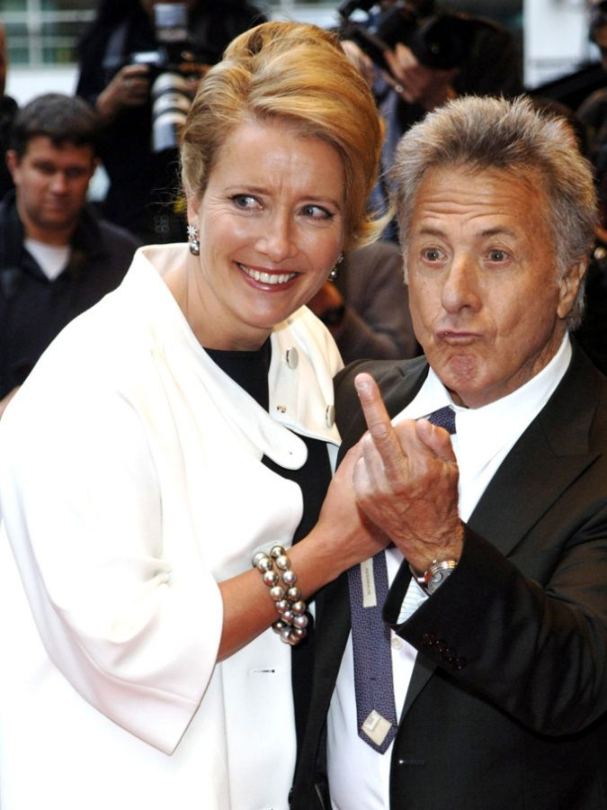 Apparently Dustin Hoffman has graduated to one cool dude who won't be fucked with.