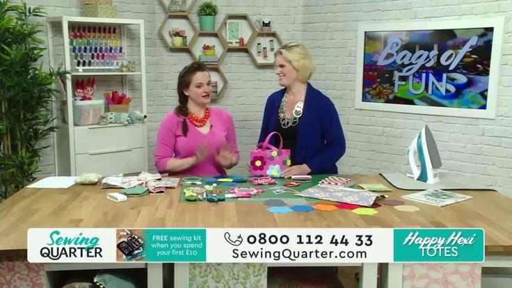 Sewing Quarter - Bags of Fun - 24th April 2017