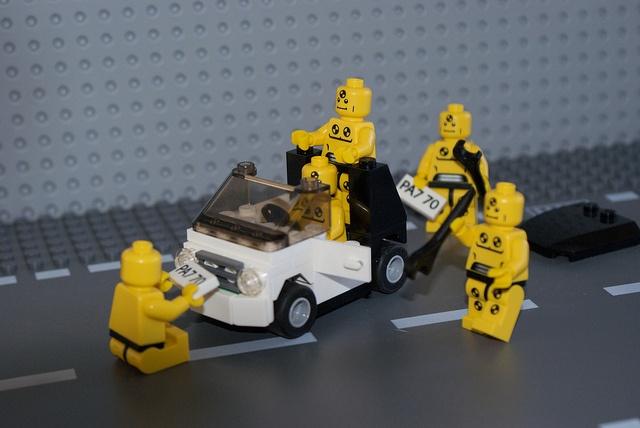 Lego Smart Car Crash