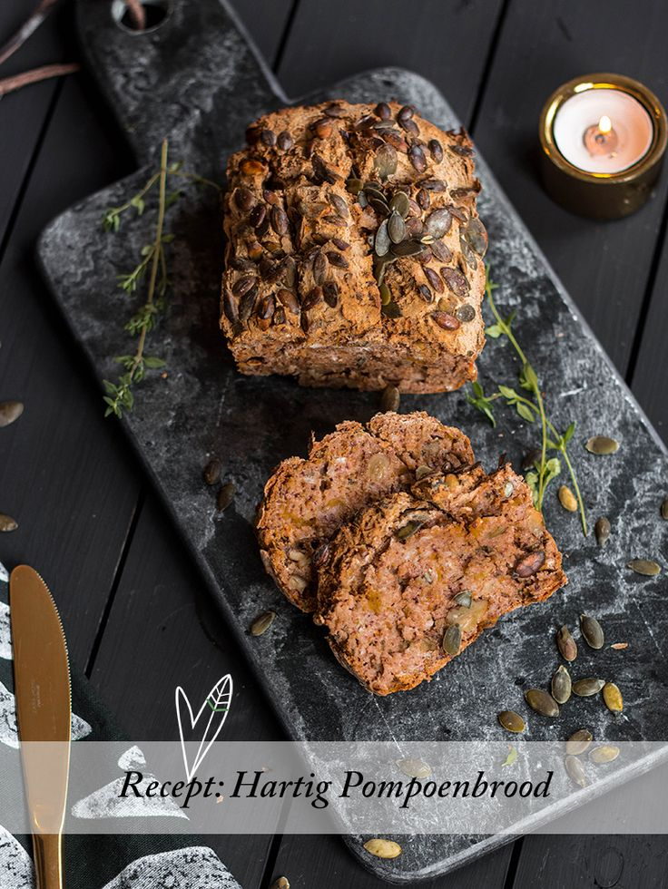 Hartig pompoenbrood - The Green Happiness