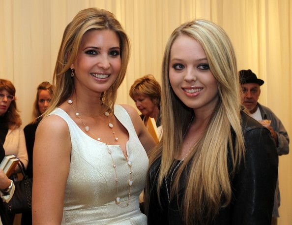 Ivanka Trump (L) and her half sister Tiffany Trump attend the Launch of Ivanka's Spring 2011 Lifestyle Collection of Footwear at the Topanga Nordstrom on February 17, 2011 in Canoga Park, California.