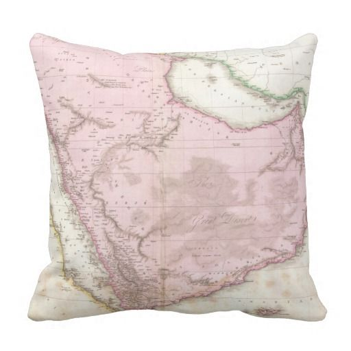 1187 best Vintage Map Pillows images on Pinterest Vintage cards, Vintage maps and Cushions