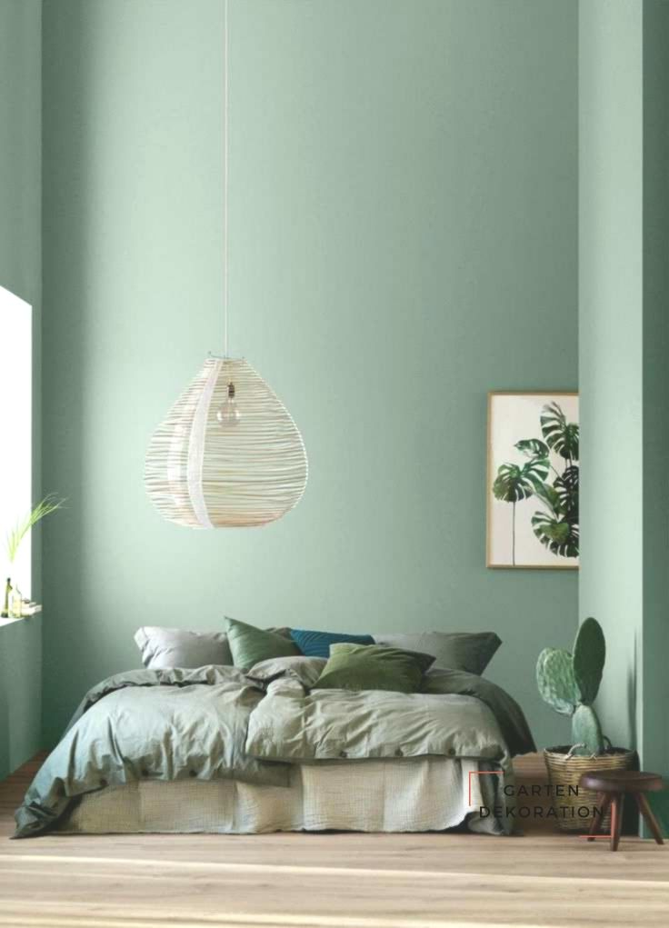 The Wall Color Isn T What Makes This Green And Beige Scandinavian