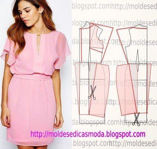 Сшить платье быстро и просто | VK