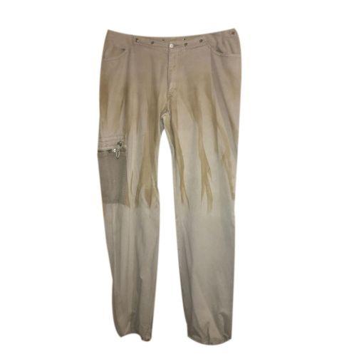 Pantalone sportivo tipo cargo Applicazioni a contrasto Tg 21/50