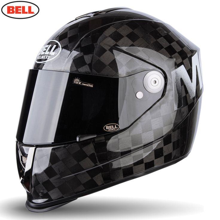 Bell M6 Carbon Motorcycle Helmet - Carbon Square Solid Matte - 2014 Bell Road Helmets - 2014 Bell Moto & Road Helmets