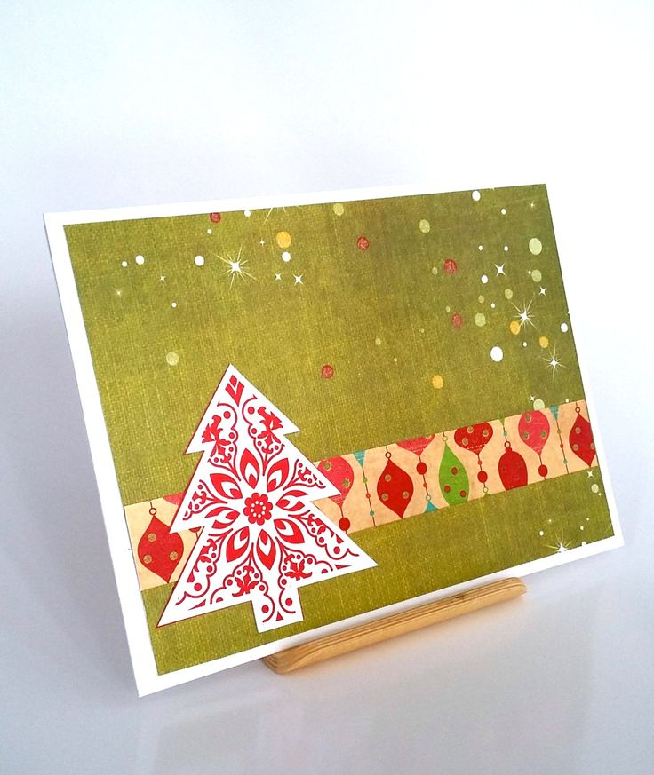 Handmade Christmas Card. Christmas 2016. Santa. Xmas, Blank card. Greeting Card made with love. by QuirkyCardsNZ on Etsy