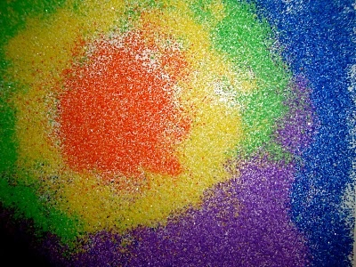 colored sand on clear contact paper from clementine artEducation Art, Art 1St, Arts Crafts, Art Tactile Letters, Art Ideas, Schools Art, Kids Art, Clementine Art Tactile, Preschool Art
